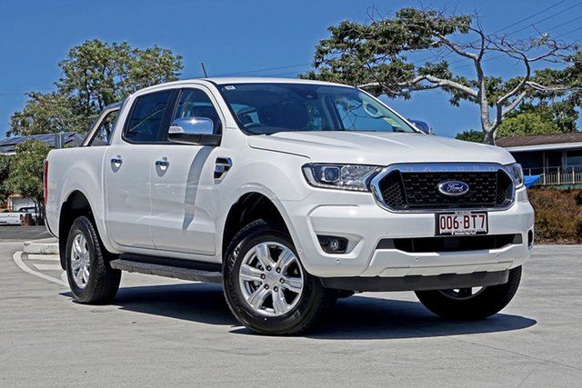 Used Ford Ranger PX MkIII 2021.25MY XLT Capalaba, 2021 Ford Ranger PX MkIII 2021.25MY XLT White 6 Speed Sports Automatic Double Cab Pick Up