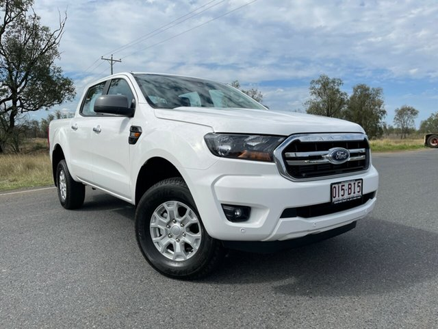 Used Ford Ranger PX MkIII 2021.25MY XLS Emerald, 2021 Ford Ranger PX MkIII 2021.25MY XLS Arctic White 6 Speed Sports Automatic Double Cab Pick Up