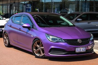 2017 Holden Astra BK MY18 RS Purple 6 Speed Sports Automatic Hatchback.