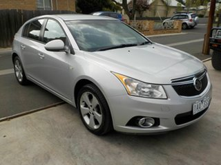 2013 Holden Cruze JH MY13 CD Equipe Silver 6 Speed Automatic Hatchback.