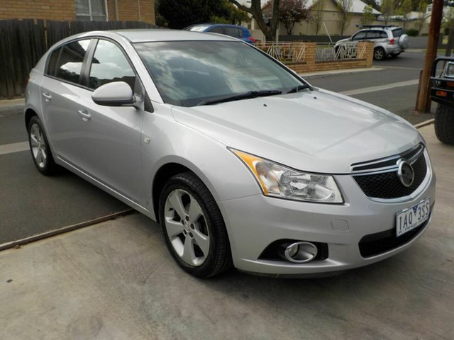 Used Holden Cruze JH MY13 CD Equipe Newtown, 2013 Holden Cruze JH MY13 CD Equipe Silver 6 Speed Automatic Hatchback