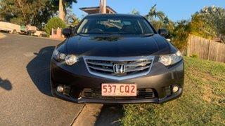 2012 Honda Accord Euro Grey 6 Speed Manual Sedan.