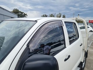 2013 Toyota Hilux KUN26R MY14 SR Double Cab White 5 Speed Manual Utility