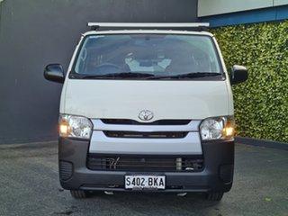 2015 Toyota HiAce KDH201R LWB White 5 Speed Manual Van.