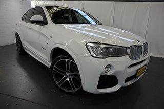 2015 BMW X4 F26 xDrive35d Coupe Steptronic White 8 Speed Automatic Wagon.