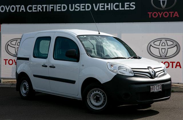Pre-Owned Renault Kangoo X61 MY14 1.6 SWB Warwick, 2015 Renault Kangoo X61 MY14 1.6 SWB Glacier White 4 Speed Automatic Van