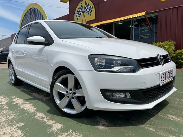 Used Volkswagen Polo 6R MY14 77TSI DSG Comfortline Toowoomba, 2014 Volkswagen Polo 6R MY14 77TSI DSG Comfortline White 7 Speed Sports Automatic Dual Clutch