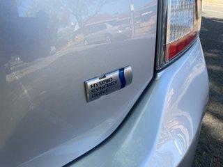 2015 Toyota Prius ZVW30R MY12 I-Tech Silver 1 Speed Constant Variable Liftback Hybrid