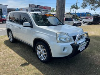 2009 Nissan X-Trail T31 TI White 1 Speed Constant Variable Wagon