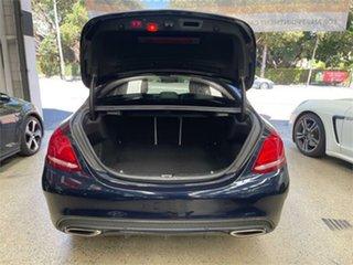 2015 Mercedes-Benz C-Class W205 C250 Cavansite Blue Sports Automatic Sedan