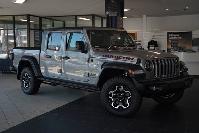 Demo Jeep Gladiator JT MY21 V2 Rubicon Pick-up Cairns, 2021 Jeep Gladiator JT MY21 V2 Rubicon Pick-up Billet 8 Speed Automatic Utility