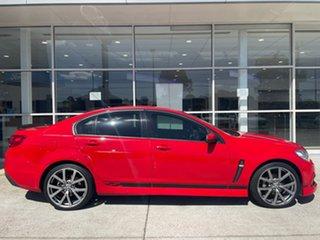 2015 Holden Commodore VF MY15 SV6 Lightning Red 6 Speed Sports Automatic Sedan.