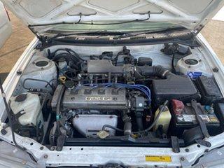 1997 Toyota Corolla AE102R Conquest Seca White 4 Speed Automatic Liftback
