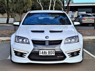 2010 Holden Special Vehicles GTS E Series 2 White 6 Speed Sports Automatic Sedan.