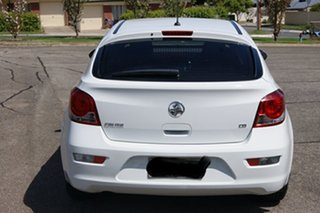 2012 Holden Cruze JH MY12 CD White 6 Speed Automatic Hatchback.