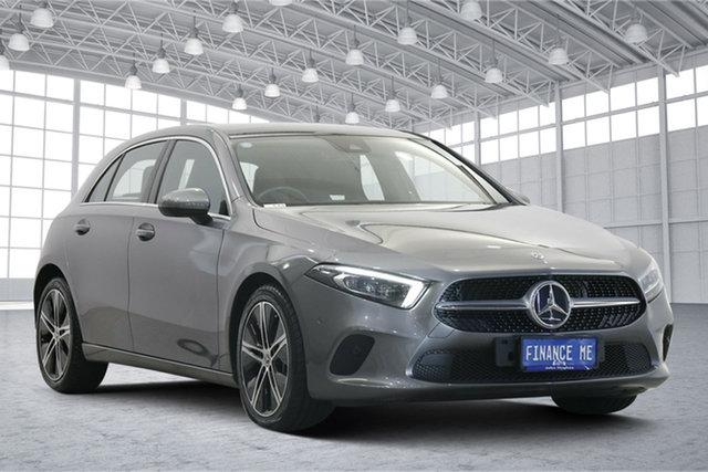 Used Mercedes-Benz A-Class W177 A200 DCT Victoria Park, 2018 Mercedes-Benz A-Class W177 A200 DCT Grey 7 Speed Sports Automatic Dual Clutch Hatchback