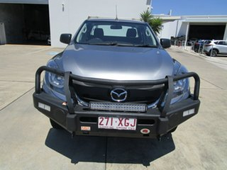2017 Mazda BT-50 UR0YG1 XT Freestyle Silver 6 Speed Manual Cab Chassis.