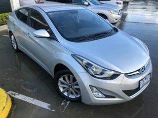 2014 Hyundai Elantra MD3 SE Sleek Silver 6 Speed Sports Automatic Sedan.