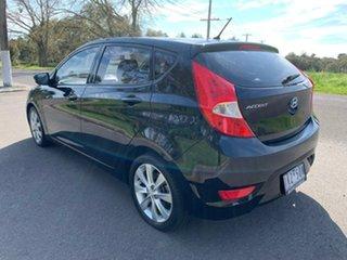 2017 Hyundai Accent RB5 Sport Black 6 Speed Sports Automatic Hatchback