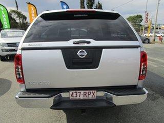2010 Nissan Navara D40 MY11 RX 4x2 Silver 5 Speed Automatic Utility