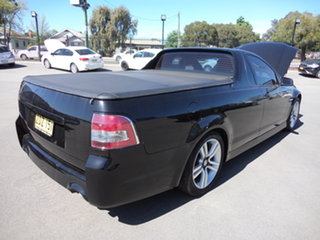 2010 Holden Commodore VE MY10 SV6 8 Ball Black 6 Speed Manual Utility
