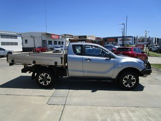 2017 Mazda BT-50 UR0YG1 XT Freestyle Silver 6 Speed Manual Cab Chassis