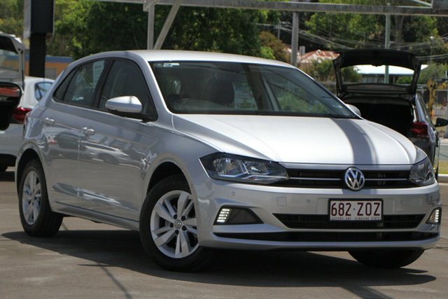 Used Volkswagen Polo AW MY19 85TSI DSG Comfortline Bundamba, 2019 Volkswagen Polo AW MY19 85TSI DSG Comfortline Silver 7 Speed Sports Automatic Dual Clutch