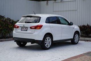 2013 Mitsubishi ASX XB MY13 2WD Starlight Black 5 Speed Manual Wagon.
