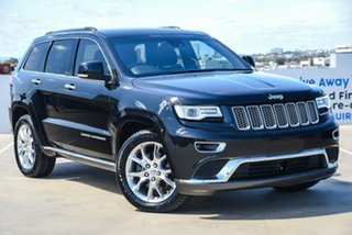 2014 Jeep Grand Cherokee WK MY15 Summit Black 8 Speed Sports Automatic Wagon.