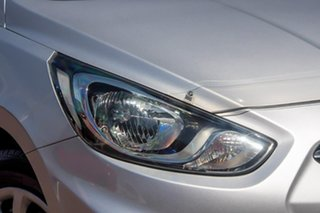 2011 Hyundai Accent RB Active Silver 5 Speed Manual Hatchback