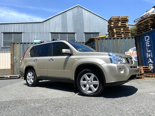 Used Nissan X-Trail T31 MY10 TS Slacks Creek, 2009 Nissan X-Trail T31 MY10 TS Gold 6 Speed Manual Wagon