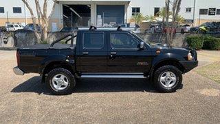 2012 Nissan Navara D22 Series 5 ST-R (4x4) Black 5 Speed Manual Dual Cab Pick-up.