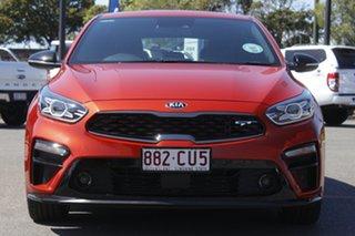 2019 Kia Cerato BD MY19 GT DCT Orange 7 Speed Sports Automatic Dual Clutch Hatchback.