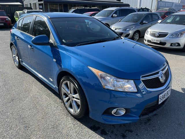 Used Holden Cruze JH Series II MY14 SRi Z Series Gepps Cross, 2014 Holden Cruze JH Series II MY14 SRi Z Series Blue 6 Speed Sports Automatic Hatchback