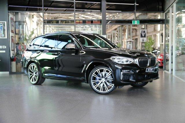 Used BMW X3 G01 M40i Steptronic North Melbourne, 2020 BMW X3 G01 M40i Steptronic Black 8 Speed Sports Automatic Wagon
