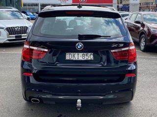 2016 BMW X3 F25 MY17 Update xDrive20d Carbon Black Metallic 8 Speed Automatic Wagon