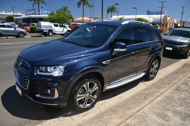 Used Holden Captiva CG MY17 7 LTZ (AWD) Toowoomba, 2016 Holden Captiva CG MY17 7 LTZ (AWD) Blue 6 Speed Automatic Wagon