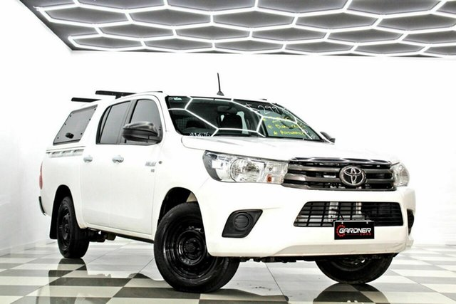 Used Toyota Hilux GGN120R SR Burleigh Heads, 2016 Toyota Hilux GGN120R SR White 6 Speed Automatic Dual Cab Utility