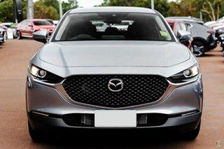 2021 Mazda CX-30 DM2W7A G20 SKYACTIV-Drive Pure Silver 6 Speed Sports Automatic Wagon.