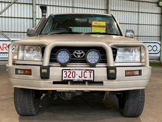 2001 Toyota Landcruiser FZJ105R GXL Gold 4 Speed Automatic Wagon