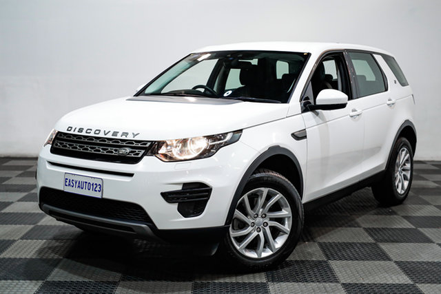 Used Land Rover Discovery Sport L550 18MY TD4 110kW SE Edgewater, 2018 Land Rover Discovery Sport L550 18MY TD4 110kW SE White 9 Speed Sports Automatic Wagon
