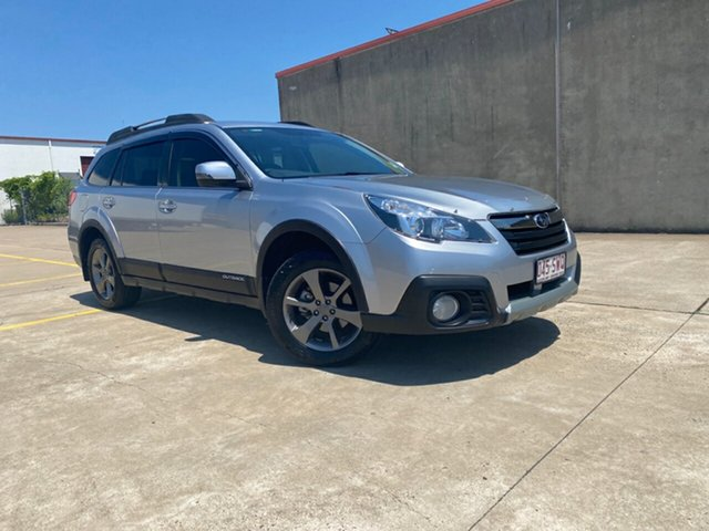 Used Subaru Outback B5A MY14 2.5i Lineartronic AWD Premium Hervey Bay, 2013 Subaru Outback B5A MY14 2.5i Lineartronic AWD Premium Ice Silver 6 Speed Constant Variable