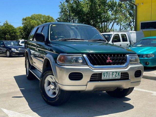 Used Mitsubishi Challenger PA MY02 Toowoomba, 2001 Mitsubishi Challenger PA MY02 Green 5 Speed Manual Wagon