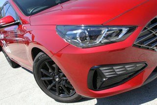 2020 Hyundai i30 PD.V4 MY21 Firey Red 6 Speed Sports Automatic Hatchback.