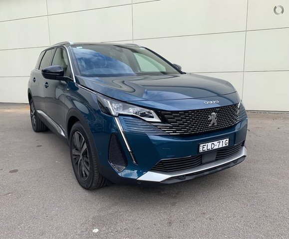 Demo Peugeot 5008 P87 MY21 GT Cardiff, 2020 Peugeot 5008 P87 MY21 GT Celebes Blue 6 Speed Automatic Wagon