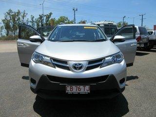 2013 Toyota RAV4 Silver 5 Speed Automatic Wagon.