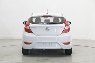 2018 Hyundai Accent RB6 MY19 Sport White 6 Speed Sports Automatic Hatchback