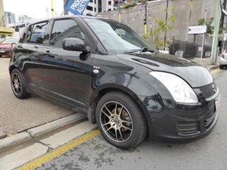 2007 Suzuki Swift EZ S Black 5 Speed Manual Hatchback.