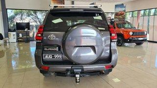 2018 Toyota Landcruiser Prado GDJ150R VX Grey 6 Speed Sports Automatic Wagon.
