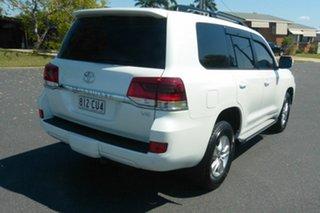 2020 Toyota Landcruiser VDJ200R GXL White 6 Speed Sports Automatic Wagon.